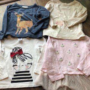 Other - Toddler Girl TShirt Bundle